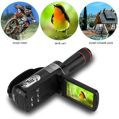Andoer HDV-Z8 1080P Full HD Digital Video Camera Camcorder 1