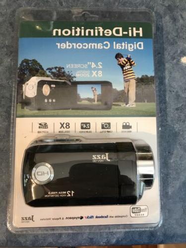 Jazz HDV180 Camcorder -  Black