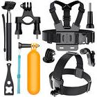 Head Chest Mount Monopod Gopro Accessories Kit For GoPro Her