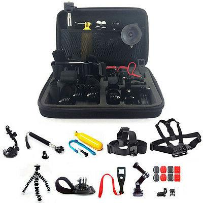25in1 Head Chest Mount Monopod Accessories Kit For GoPro Her