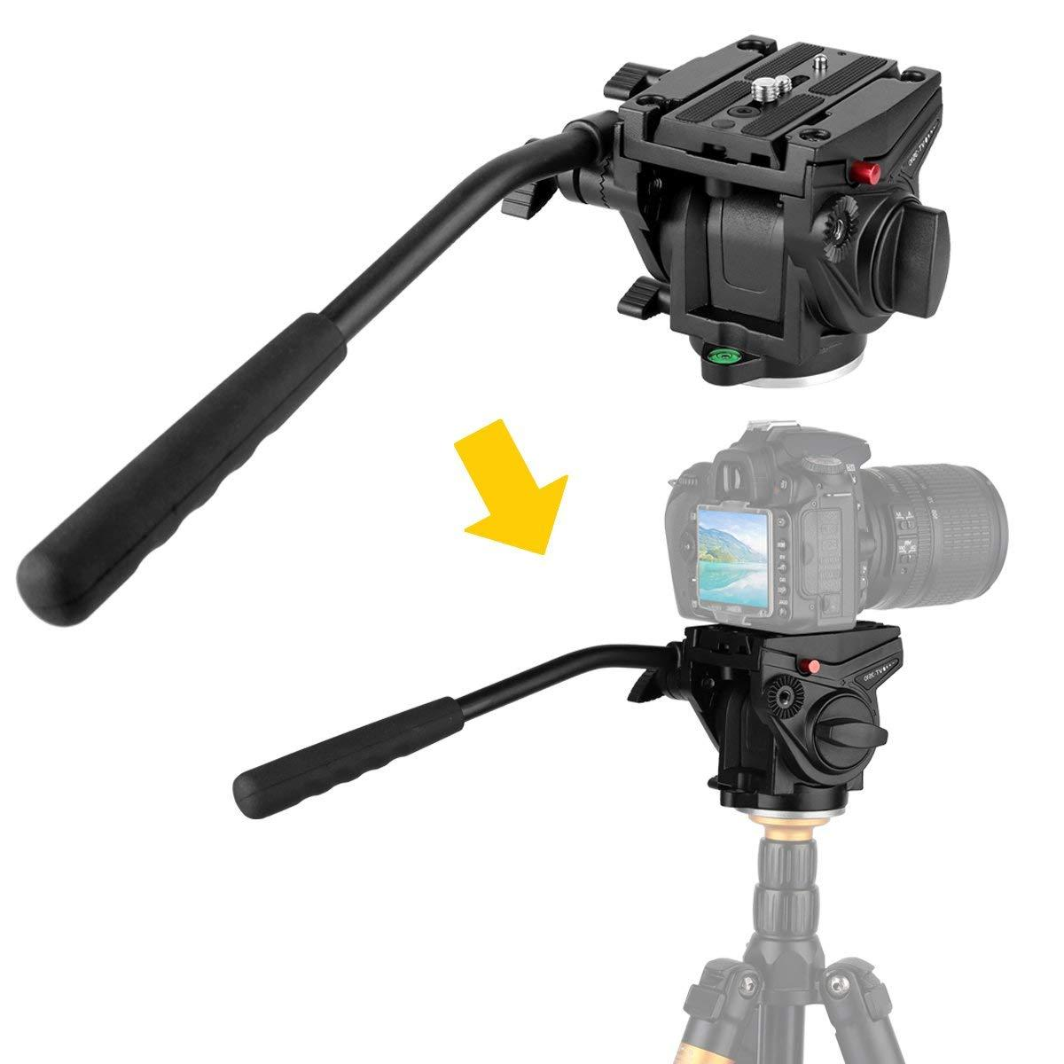 KINGJOY Heavy Duty Video Camera <font><b>Fluid</b></font> Dr