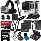 GoPro HERO4 Black Edition + 2 battery + 32GB SD All In 1 Acc