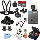GoPro HERO5 Session All In 1 PRO Accessory KIT Bundle w/ San