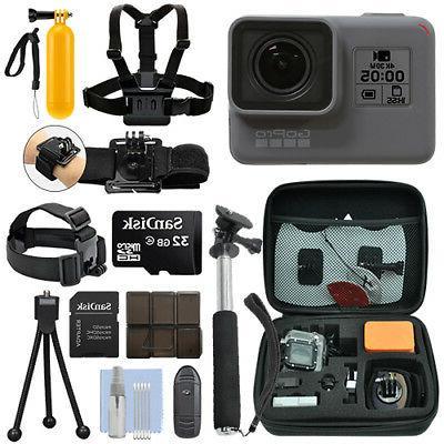 GoPro HERO5 Black Waterproof 4K Camera Camcorder + 32GB Acti