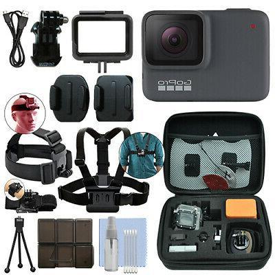 hero7 silver 10 mp waterproof 4k camera