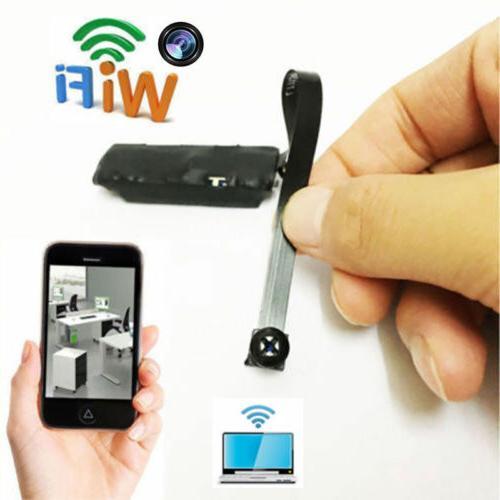 WIFI IP Pinhole Spy Camera Mini Nanny Cam Digital Video Hidd