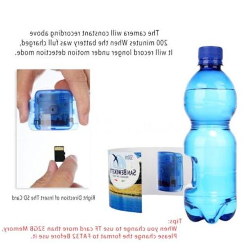 Hidden Spy HD Portable Water Camcorder Motion UP