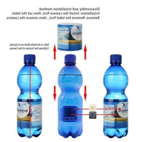 Hidden Spy Camera Bottle HD Portable Water UP