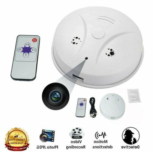 hidden spy camera smoke detector motion detection