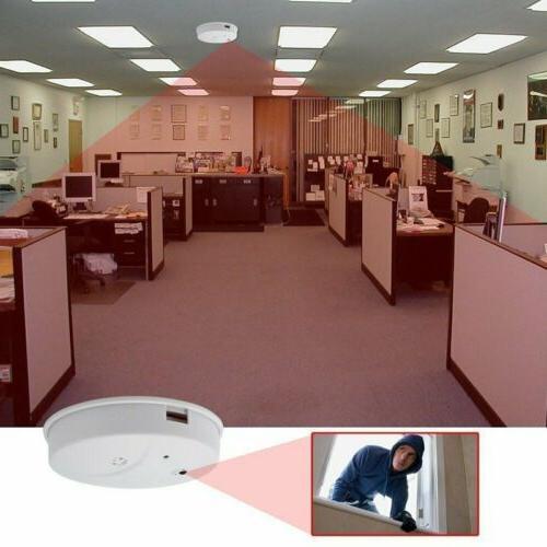 HD Video Surveillance Spy Smoke Detector Motion Detection