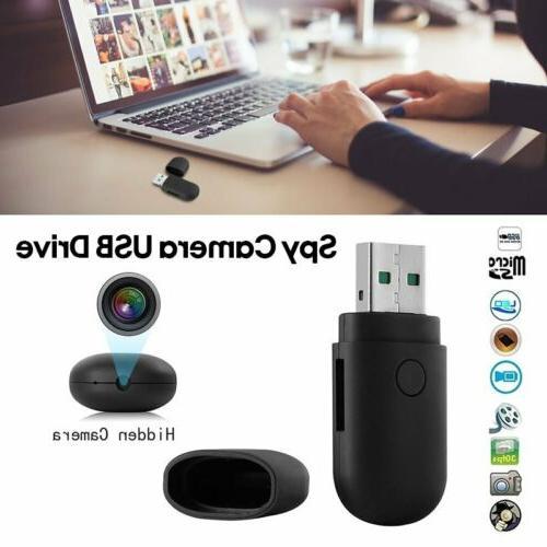 32GB Mini USB Flash Drive Disk Hidden Camera HD DVR Video Re