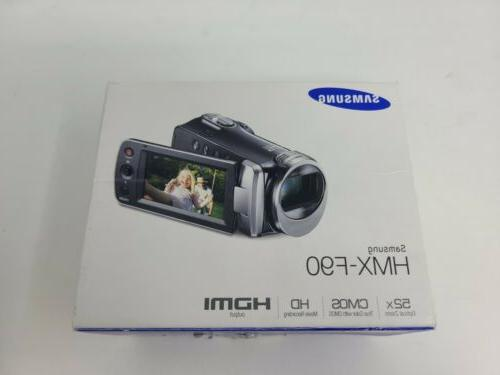 hmx f90 white camcorder tested
