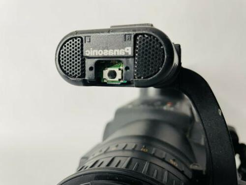 Panasonic HVX200 Tested & - With P2