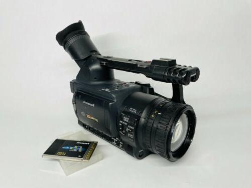 hvx200 camcorder tested and working with 16gb