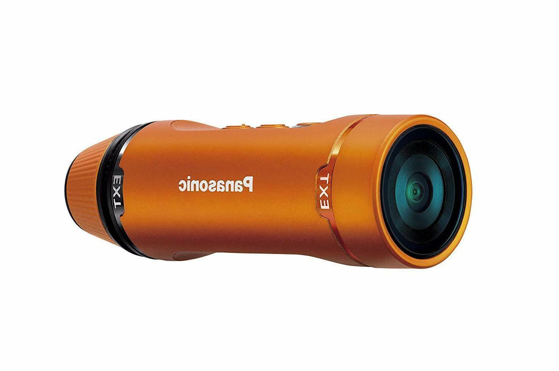 Panasonic HX-A1M Digital Camcorder - MOS - Full HD - Orange