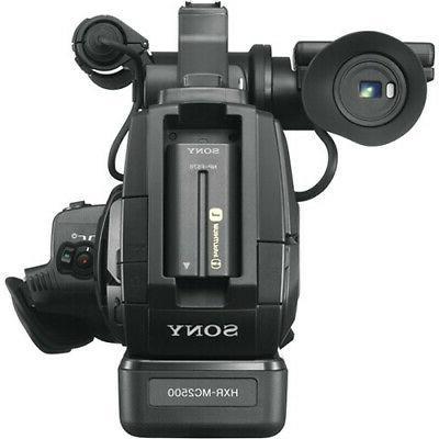 Sony HXR-MC2500E AVCHD Camcorder Extra Battery