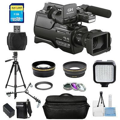 "Sony HXR-MC2500 Shoulder Mount AVCHD Camcorder with 3"" LCD S"