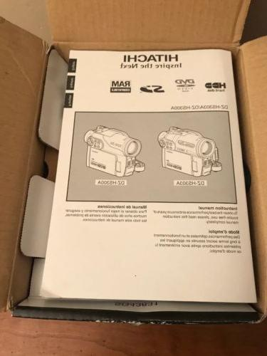 Hitachi Hybrid Camcorder Video Camera - NEW
