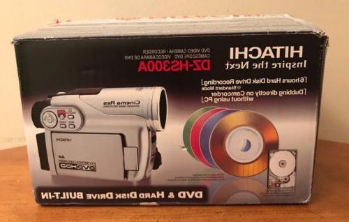 hybrid camcorder dvd video camera hdd dz