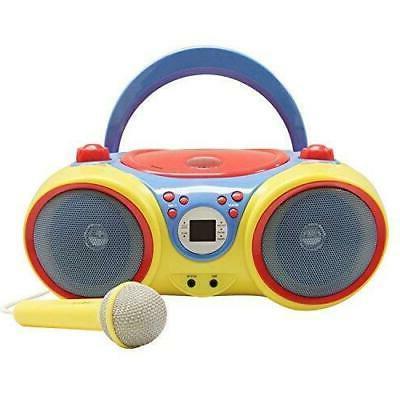 kids audio cd player karaoke