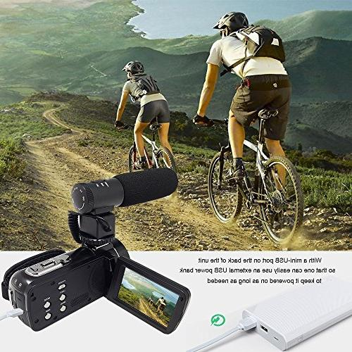 GordVE KG003 Night Vision Video 1080P 3 Portable Video Camcorder With