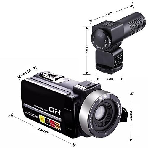 GordVE KG003 Night Video 1080P 3 Inch Portable LCD HDV Camcorder With