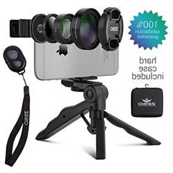 Camera Lens Kit by Zeso Professional CPL, Macro Wide Angle L
