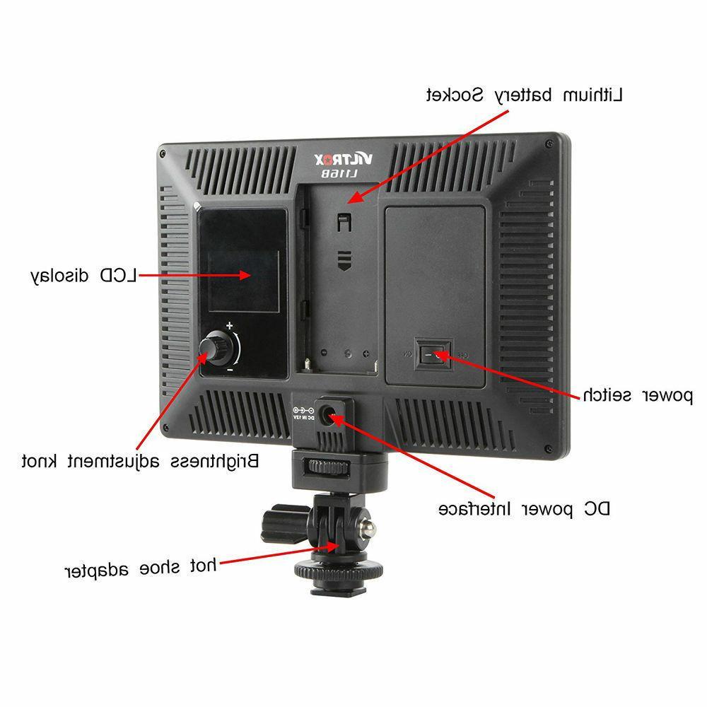Viltrox 1002LM LED Camcorder Light Studio
