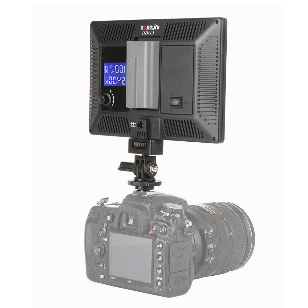 Viltrox L-116B 5400K 1002LM LED DSLRs Light Studio