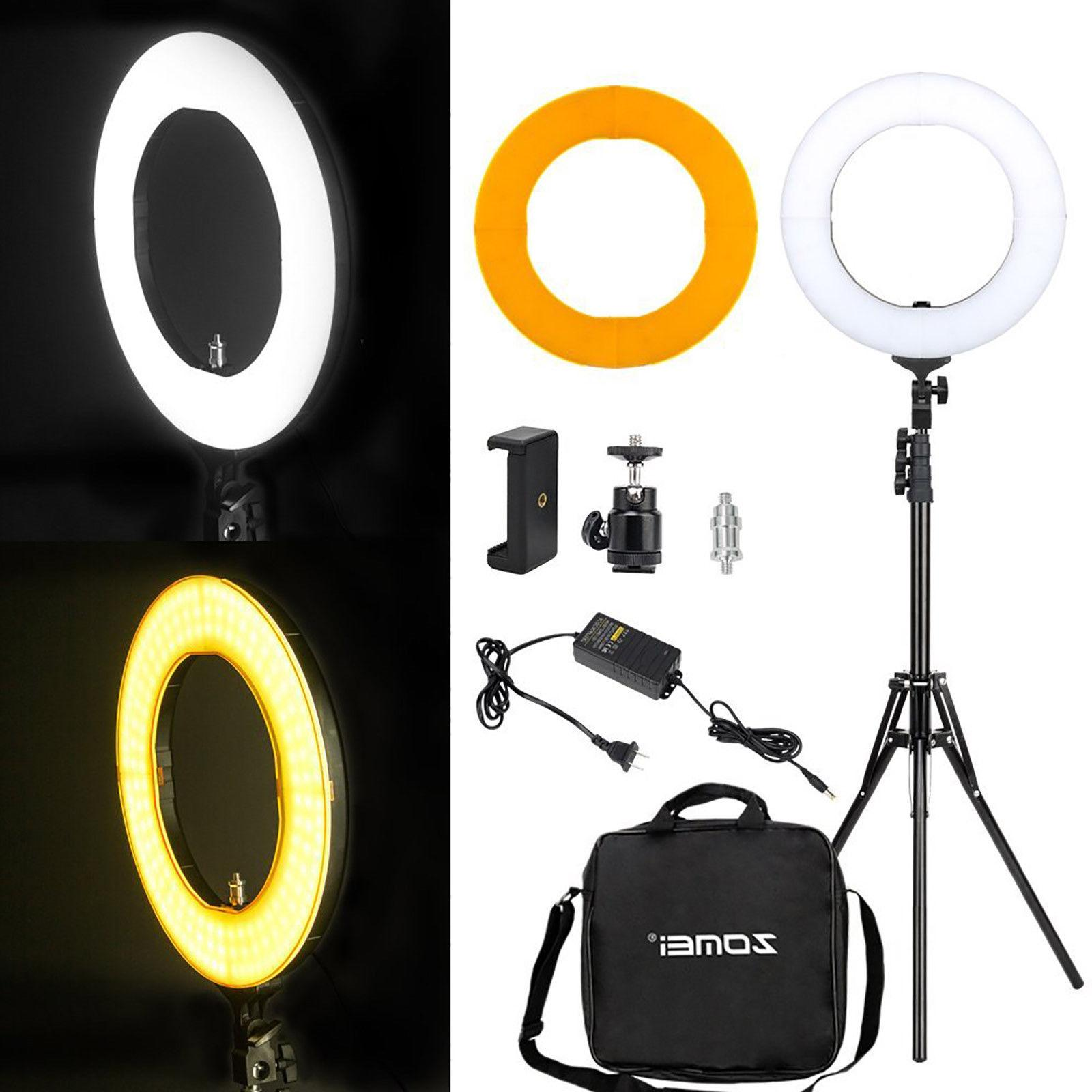 LED Ring Light Stand Phone