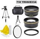 Lens Filter Accessory Kit For Canon Vixia HF R600 HF R62 HF