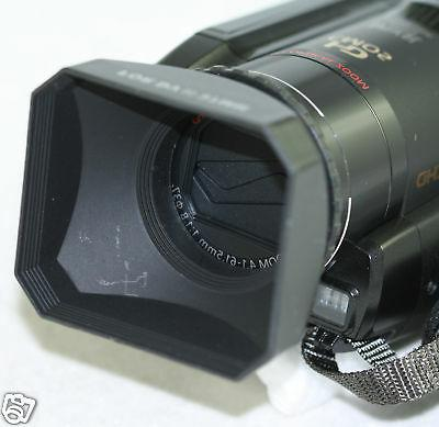 52mm Digital Video Lens Hood Sony HDR-PJ790V PJ790 PJ790V PJ