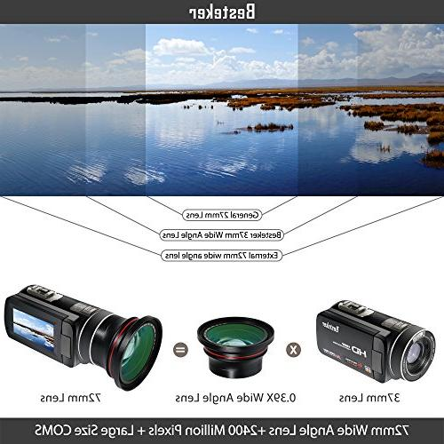Camera 0.39x Photo Professional HD Wide Angle Macro Portion Kit