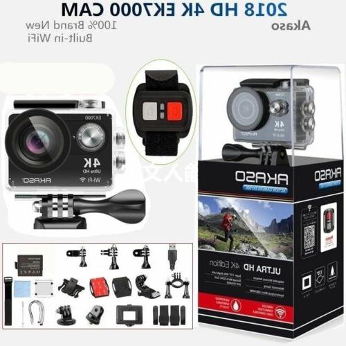 ek7000 wifi 4k waterproof sports action camera