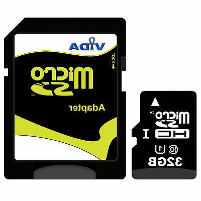 New Vida IT 32GB Micro SD SDHC Memory Card For Muvi VCC 005