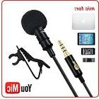 Microphone Easy Clip  Professional Recording Youtube Vlog Po