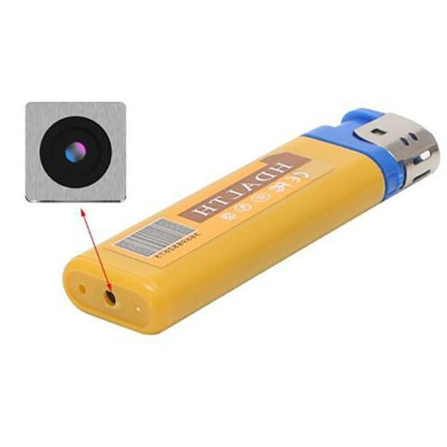 Spycam Mini Camera Lighter HD DV DVR Surveillance Camcorder
