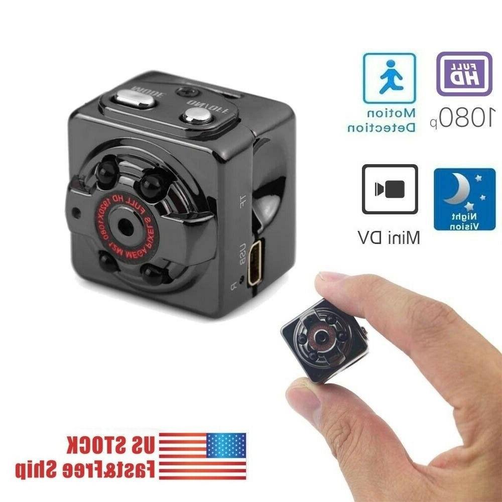 mini spy hidden camera 1080p portable small