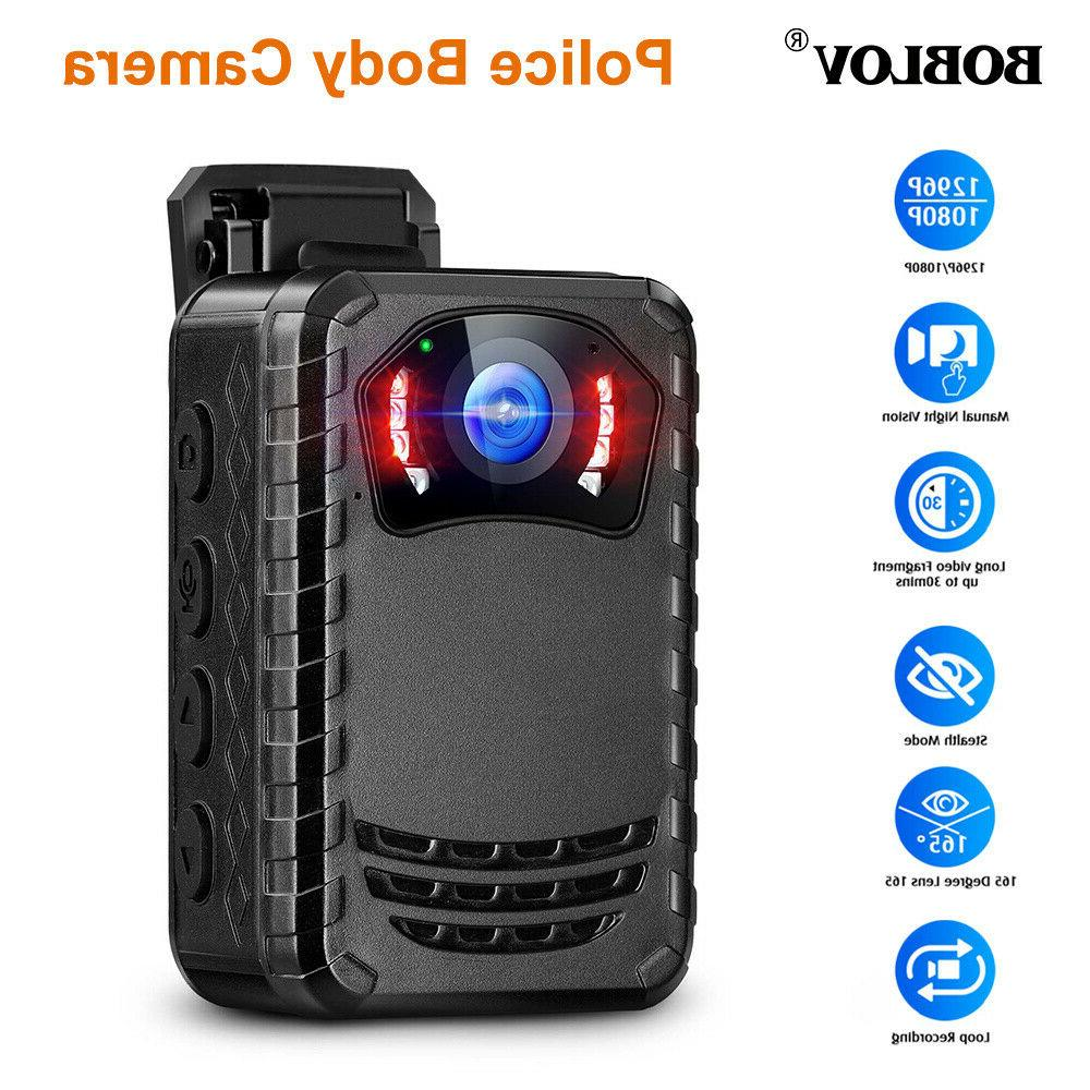 BOBLOV Body Camera Vision HD 1296P For Protection