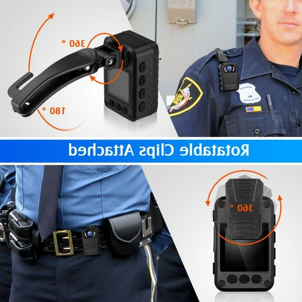 BOBLOV Mini Body Camera Night Full HD Protection