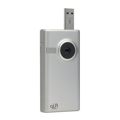 Flip MinoHD 4 GB, - Silver