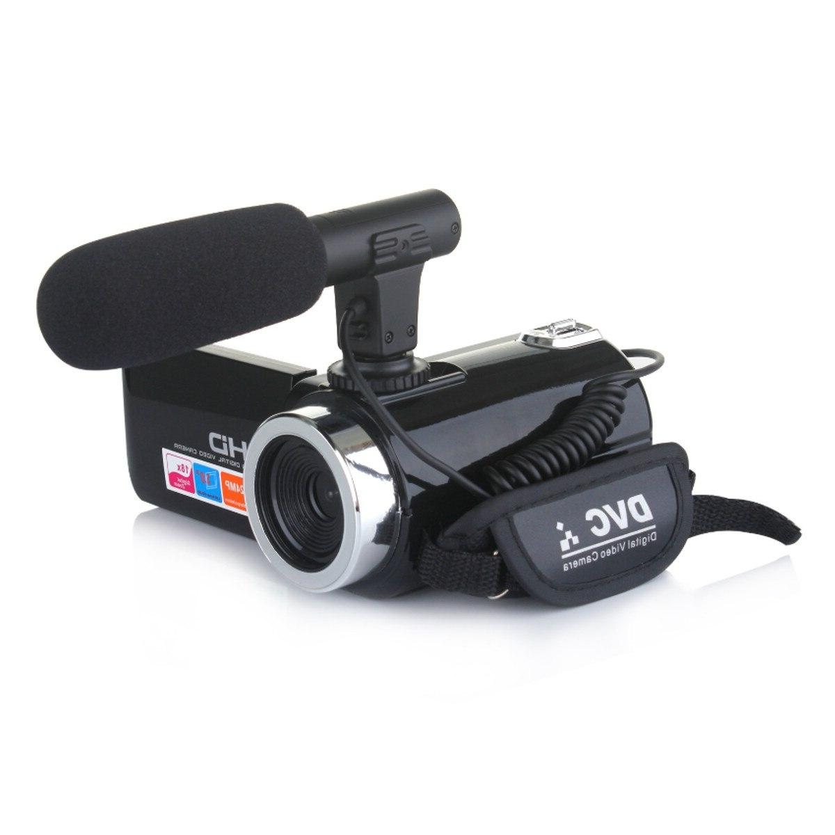 Multifunctional Camcorder IR <font><b>Night</b></font> <font><b>Video</b></font> 3 Inch 1080P 18X Zoom <font><b>Camera</b></font> With Mic
