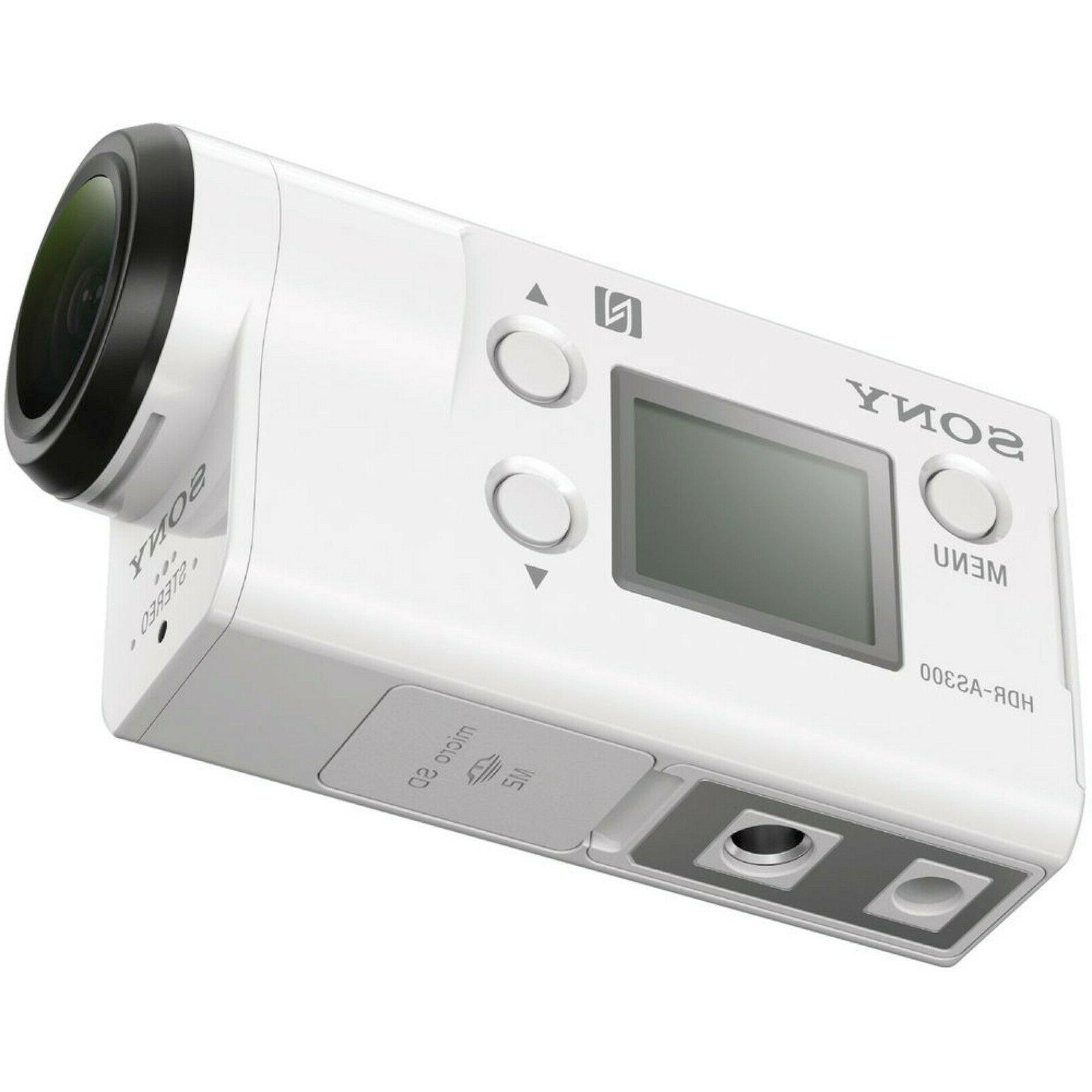 NEW Sony Action Cam HDR-AS300 Video Camera