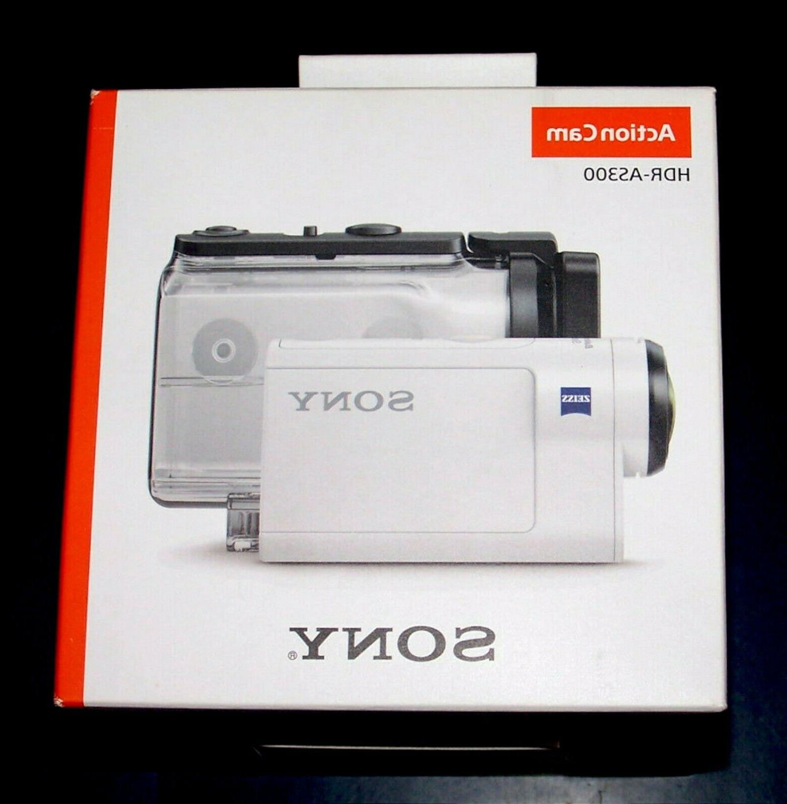 NEW Sony Cam HDR-AS300 HD Video Camera Camcorder