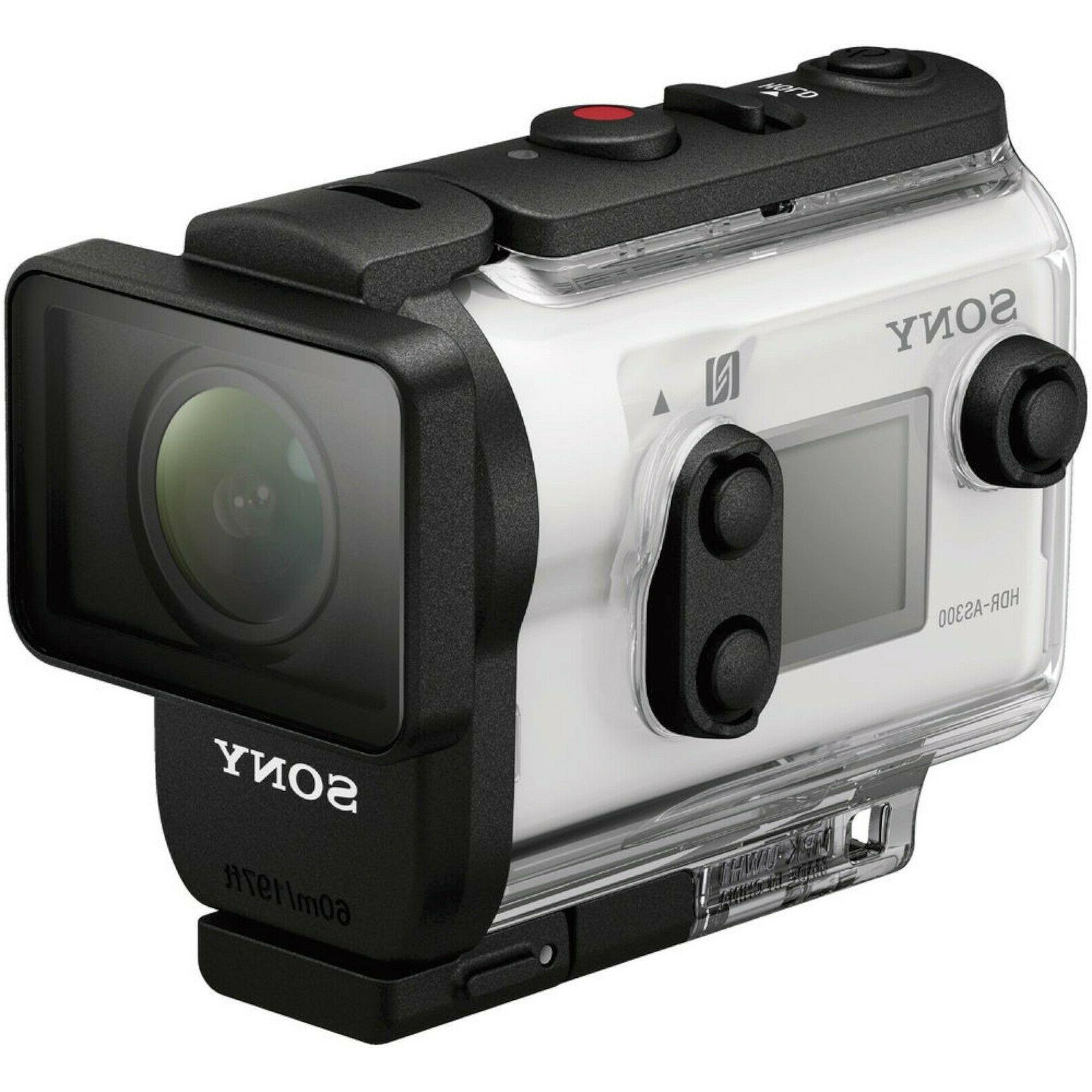 new action cam hdr as300 wi fi