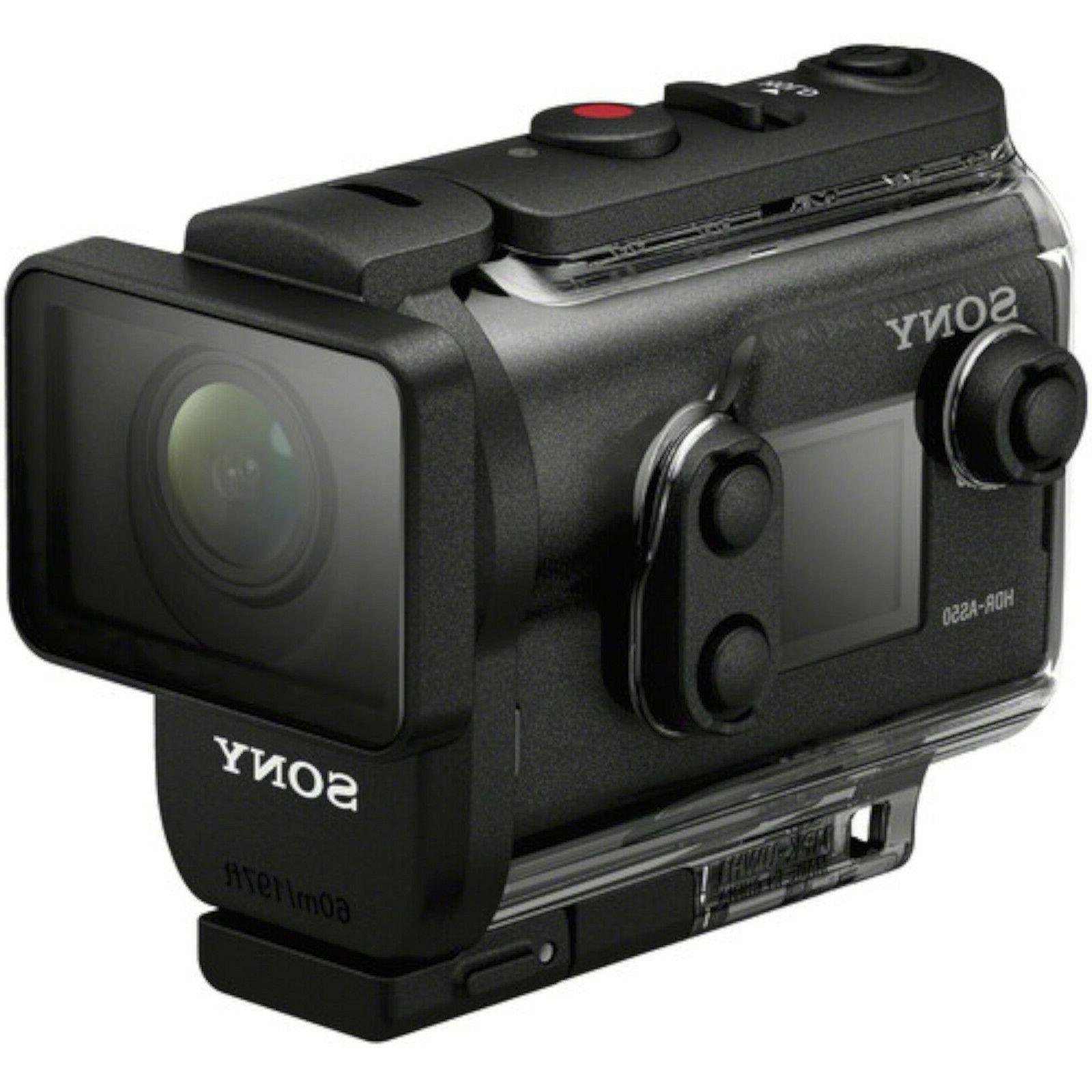 NEW Sony HDR-AS50R HD Camera & View