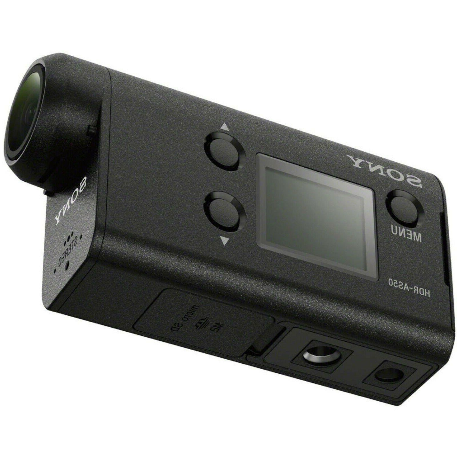 NEW Action Cam HDR-AS50R HD Camera Live View Remote