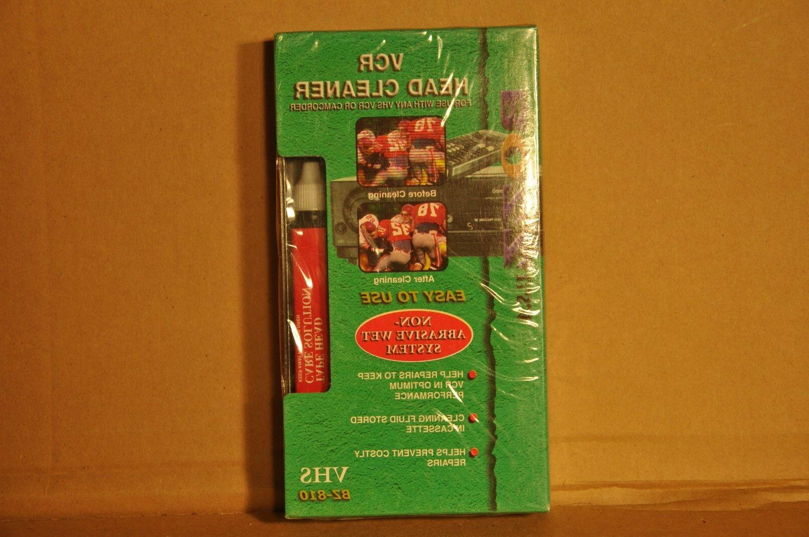 new and sealed vcr vhs and camcorder