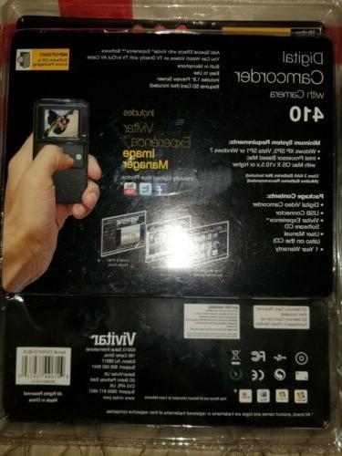 NEW Vivitar Recorder Handheld Travel Camcorder