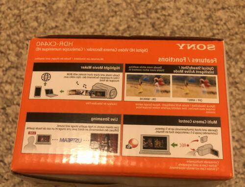 NEW! Sony Handycam 1080p Memory Black Camcorder